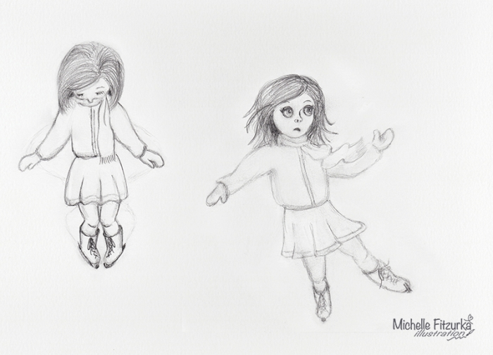 Michelle Fitzurka Skate Sketches