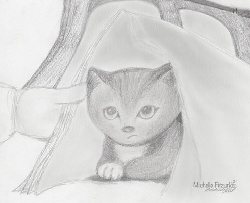 Concept sketch in graphite.  [Michelle Fitzurka, 2014]
